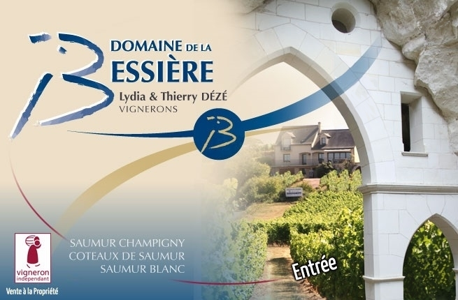 Domaine de la Bessiere : vigneron indépendant - producteur Saumur Champigny, Coteaux de Saumur, Saumur Blanc et Méthode Traditionelle