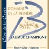 Domaine de la Bessiere - Thierry DEZE - etiquette Clos de la Croix