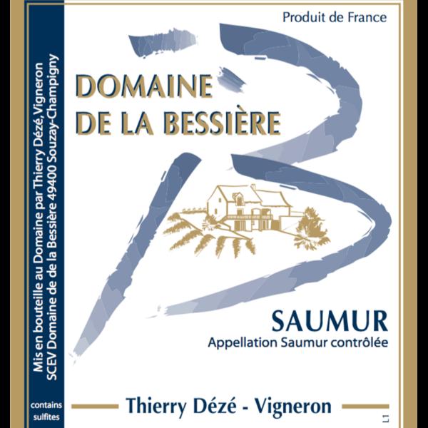 Domaine de la Bessiere - Thierry DEZE - etiquette Saumur Blanc