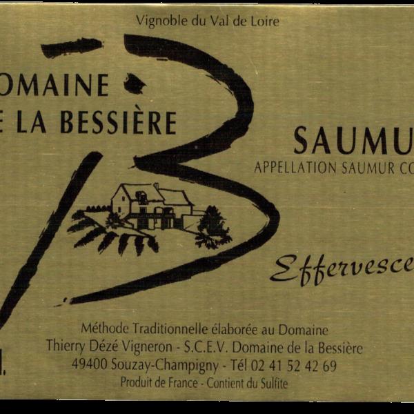 Domaine de la Bessiere - Thierry DEZE - saumur brut