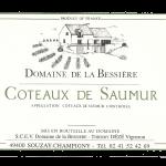 Domaine de la Bessiere - Thierry DEZE - etiquette coteaux de saumur